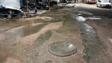 Photo of Drainage overflow, delayed work create problem in Baba Nagar