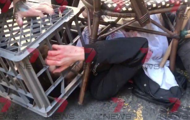 सिडनी में ''अल्लाह-हू अकबर' चिल्लाते हुए युवक ने किया हमला ! 4