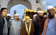 Procession of Urs-e-Yousufain from Charminar