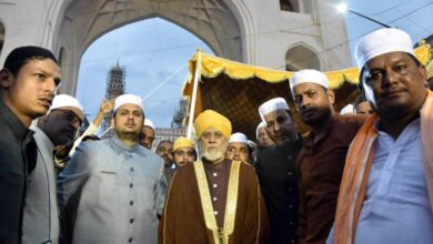 Photo of Procession of Urs-e-Yousufain from Charminar