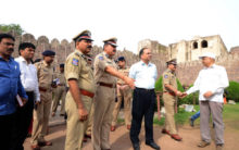 I-Day celebration arrangements at historic Golconda Fort