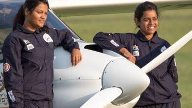 Photo of Mumbai girl makes aviation history with solo Pacific flight