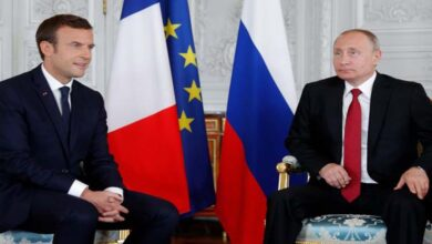 Photo of Macron, Putin see chance on Ukraine but clash on Syria