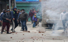With radicals out of J&K, stone-pelting steeply drops