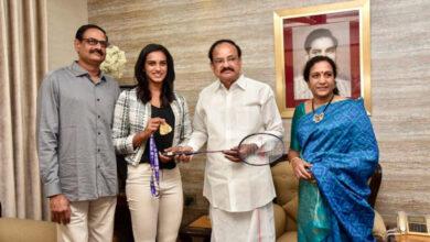 Photo of Sindhu is the pride of the nation: Vice President
