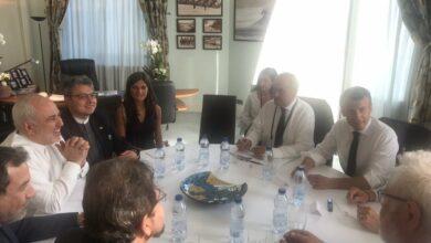Photo of Iran's Javad Zarif makes surprise visit to G7 summit