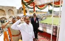 Independence Day Celebrations at Golconda fort