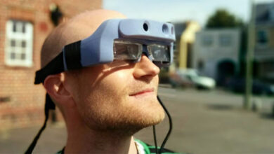 Photo of AR glasses can help visually impaired navigate better