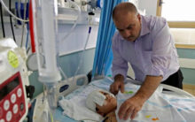 Family of Palestinian boy wounded wants answers from Israel