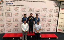 Abid Ali Khan bags Gold in shooting Championship