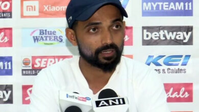 Photo of Not a selfish guy: Rahane not concerned about missing a hundred