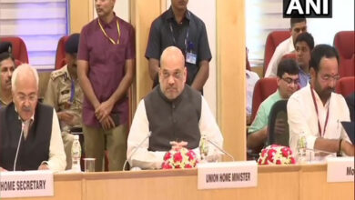 Photo of Shah holds inter-state council meeting on anti-Maoist operations