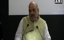 Shah lashes out at Congress for its Article 370 posture