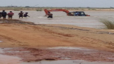 Photo of AP: Three youths washed away in floodwaters; one rescued