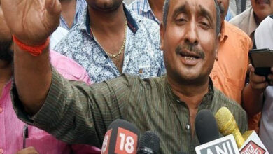 Photo of Kuldeep Singh Sengar charged with murder of victim's father