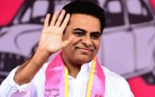 KTR pats youth for inventing low-cost portable paddy hand weeder