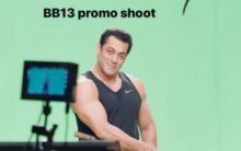 Salman Khan shoots promo of Bigg Boss 13