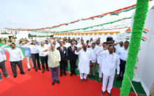 I Day Celebrations at Camp Office