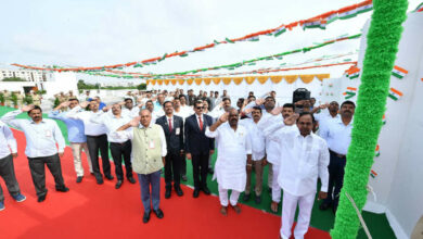 Photo of I Day Celebrations at Camp Office