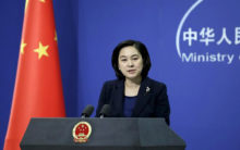 China urges Britain to stop interfering in internal matters