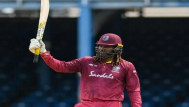 Photo of Players wish 'happy retirement life' to Gayle
