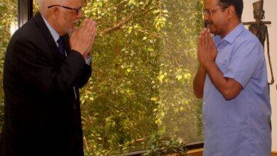 Photo of Nepal Ambassador calls on Kejriwal
