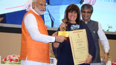 Photo of Modi Presents Yoga Awards