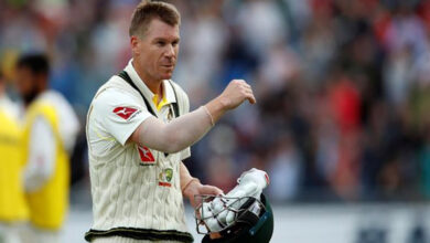 Photo of Warner stood up really well: Ricky Ponting