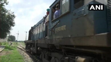 Photo of Samjhauta Express arrives at Attari