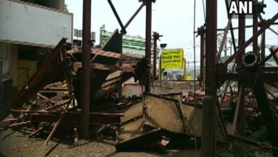 Photo of Andhra Pradesh: Man dies after girder falls on him