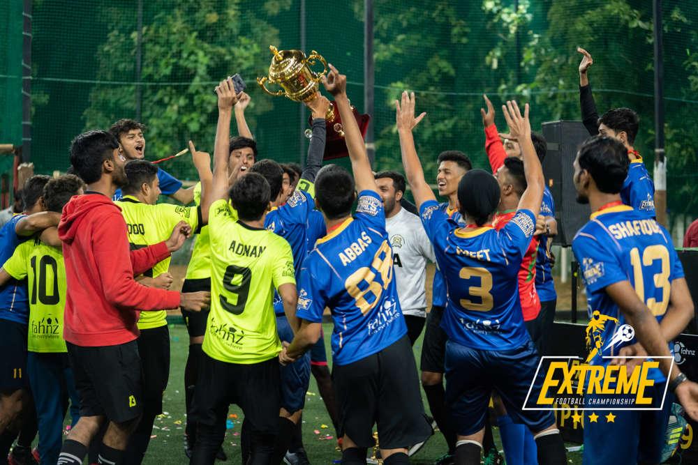 Fahnz Title Celebration