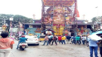 Photo of Hyderabad: Tallest idol of Lord Ganesh weighing 50 tonnes ready