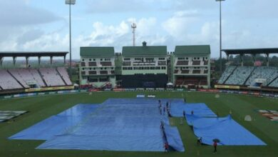 Photo of Guyana ODI: Match between India and Windies abandoned