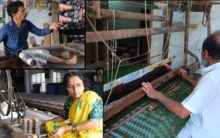 Handloom Weavers family reviving ancient arts