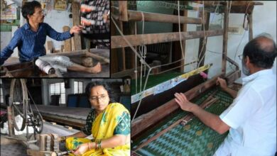 Photo of Handloom Weavers family reviving ancient arts