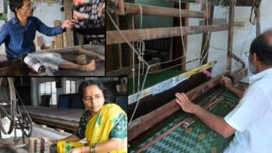 Photo of Hyderabad weavers reviving ancient craft