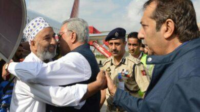 Photo of J&K: First batch of 304 Hajj pilgrims reach Srinagar