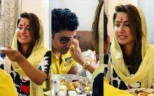 Ex- Bigg Boss contestant Hina Khan shares Raksha Bandhan photos
