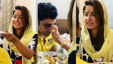 Photo of Ex- Bigg Boss contestant Hina Khan shares Raksha Bandhan photos
