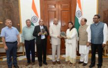 Books gifted to President of India