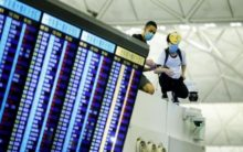 Flights back on schedule at Hong Kong airport