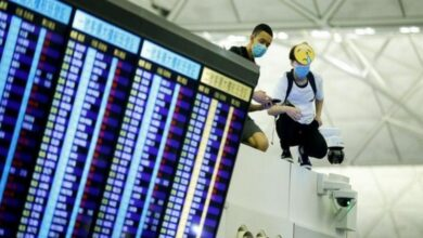 Photo of Flights back on schedule at Hong Kong airport