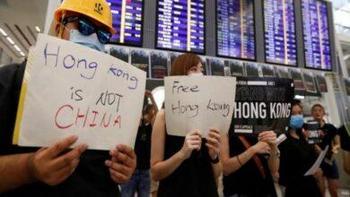 Photo of Hong Kong protests: Three-day sit-in at airport continues