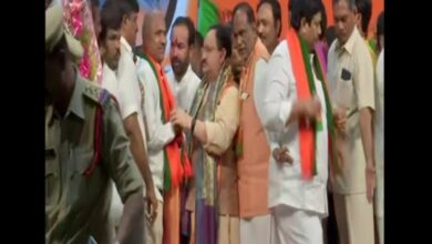 Photo of Telangana: Around 60 prominent TDP leaders join BJP