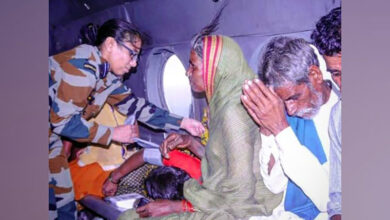 Photo of IAF rescues six people stranded near Narayanpur