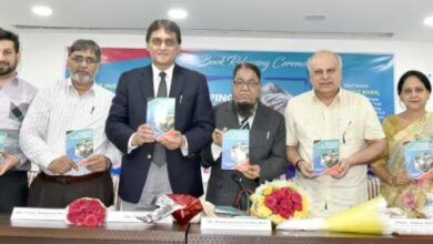 "Photo of Hyderabad: ""Shaping a Student to Be Human"" book released"
