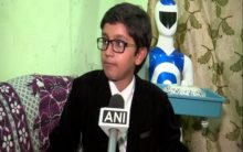 Telangana: 12-year-old prodigy develops serving robot