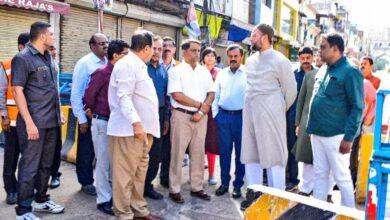 Photo of Owaisi seeks sanitation in city ahead of Bakrid