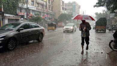 Photo of Heavy rain lashes in Hyderabad