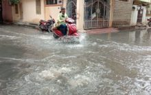 Flood like Situation in Towli Chowki
